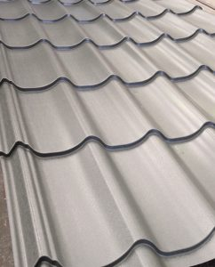 Dutch Pan Tile fom sheeting