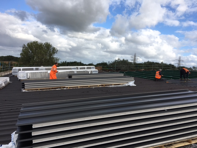 Laying New Roof Norfolk Peter Wragge Supplies Ltd