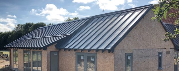 Insulated roofing sheets